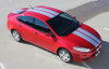 front angle of Dodge Dart Rally Stripes DART RALLY 3M 2013 2014 2015 2016