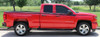 side of red 2016 Chevy Silverado Graphics ACCELERATOR 2014-2016 2017 2018