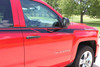 door stripes on red 2016 Chevy Silverado Graphics ACCELERATOR 2014-2016 2017 2018