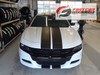 front of Dodge Charger SRT Stripes N CHARGE RALLY 3M 2015 2016 2017 2018