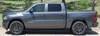 side of 2019 Dodge Ram 1500 Fender Decals RAM HASHMARKS 2019 2020 2021