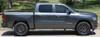 profile of 2019 Dodge Ram Truck Side Stripes RAM EDGE SIDE KIT 2019 2020 2021