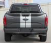 rear of Ford F150 Duel  Racing Stripes F-RALLY 2015 2016 2017 2018 2019