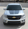 front of silver NEW! 2020 Chevy Colorado Hood Stripes SUMMIT 2015-2021