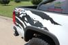 side of white Chevy Colorado Mountain Graphics ANTERO 2015-2021