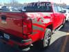 rear angle of red Chevy Colorado Mountain Graphics ANTERO 2015-2021