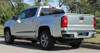 rear of silver Chevy Colorado Rocker Graphics RATON 2015-2020
