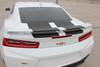rear of white 2018 Chevy Camaro Rally Stripes CAM SPORT 2016 2017 2018