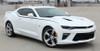 side of white 2017 Chevy Camaro Upper Body Stripes PIKE 2016 2017 2018
