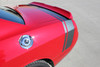 rear view of 2017 Dodge Challenger Scat Pack Stripes TAIL BAND 2015-2020