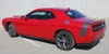 rear angle of 2017 Dodge Challenger Scat Pack Stripes TAIL BAND 2015-2020
