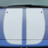 hood view of Dodge Dart Racing Stripes SPRINT RALLY 3M 2013 2014 2015 2016