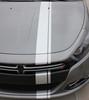 hood close up Dodge Dart Euro Stripes DARTING E RALLY 3M 2013 2014 2015 2016