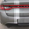rear of Dodge Dart Euro Stripes DARTING E RALLY 3M 2013 2014 2015 2016