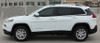 side of white 2018 Jeep Cherokee Upper Stripes WARRIOR 2014-2019 2020