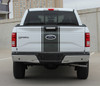 tailgate of F150 Truck Center Racing Stripes 150 CENTER 3M 2015-2018 2019