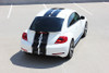 back of white VW Beetle Racing Stripes BEETLE RALLY 2012-2017 2018 2019