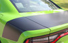 rear with no spoiler Dodge Charger Rear Hemi Stripes CHARGER TAILBAND 2015-2021