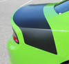 side of green Dodge Charger Rear Hemi Stripes CHARGER TAILBAND 2015-2020