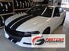 front angle of FAST! RT, Daytona, Hemi Dodge Charger Racing Stripes 2015-2021