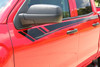 close up of 2017 Chevy Silverado Side Stripes BREAKER 2014 2015 2016 2017 2018