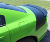 side angle of Dodge Charger Rear Trunk Stripes TAILBAND 2015-2018 2019