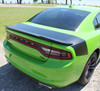 rear of Dodge Charger Rear Trunk Stripes TAILBAND 2015-2018 2019