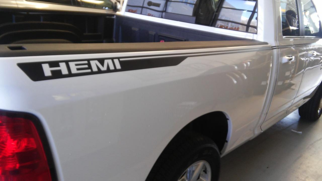 Dodge Ram 1500 Sport Side Decals Hustle 2009 2018