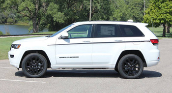 side of 2019 Jeep Grand Cherokee Side Stripe PATHWAY 2011-2020