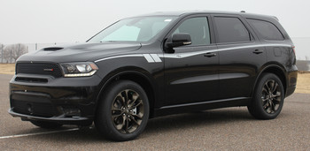 front of 2020 Dodge Durango Side Stripes Packages RUNAWAY 2011-2021