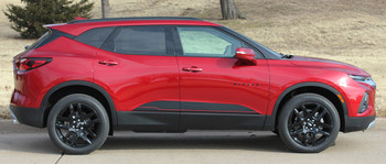 side of BLAZE ROCKER | 2019-2020 Chevy Blazer Side Stripes Package