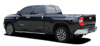 side of 2018 Toyota Tundra Side Stripe Kits BURST 2015-2021