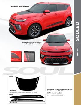 sales info for 2022 Kia Soul Hood Stripes SOULED HOOD 2020 2021 2022