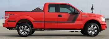 Side Digital Graphics for Ford Trucks 15 QUAKE 2015-2020