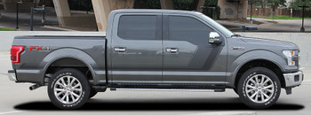 profile of grey Side Digital Graphics for Ford Trucks 15 QUAKE 2015-2018 2019