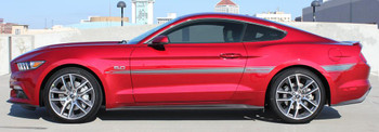 Door Stripe Graphics on Ford Mustang LANCE 2015 2016 2017