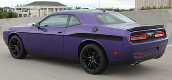 side of purple Dodge Challenger Body Side Decals ROADLINE 2008-2017 2018 2019
