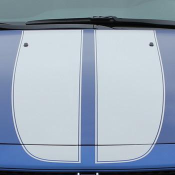 hood close up 2015 Dodge Dart Decals SPRINT RALLY 2013 2014 2015 2016