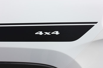 close up of Side Stripes for Jeep Cherokee CHIEF Decals 2014-2017 2018 2019
