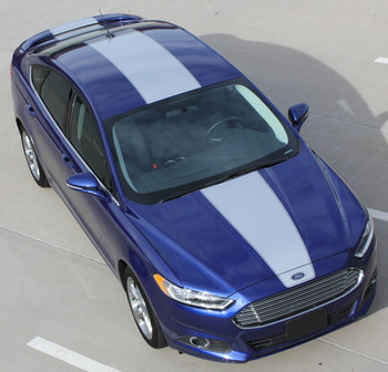 Ford Fusion Center Wide Stripes OVERVIEW RALLY 2013-2018