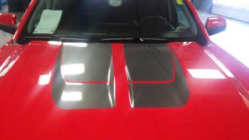 hood of red 2016 Silverado Rally Stripes CHASE RALLY 2016 2017 2018