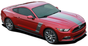 Hood and Side Stripes for Ford Mustang STELLAR 2015 2016 2017