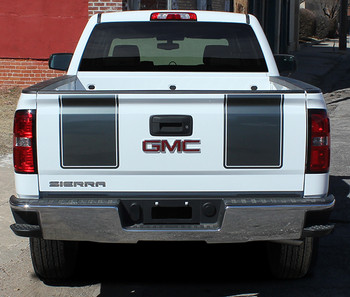 rear of GMC Sierra Rally Package SIERRA RALLY 2014 2015 2016 2017 2018