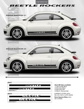 flyer for VW Beetle Rocker Panel Decals ROCKER 1 or 2 2012-2018 2019