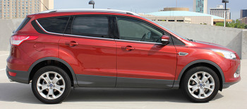 side of Ford Escape Side Door Stripes RUNAROUND 2013-2016 2017 2018