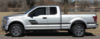 side of Ford F150 Side Decals and Stripes ELIMINATOR 3M 2015-2020