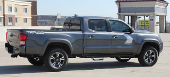 side of Toyota Tacoma Side Graphics STORM 3M 2015 2016 2017 2018 2019