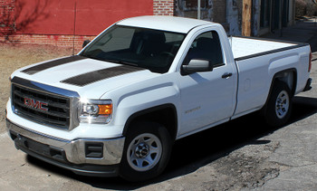 GMC Sierra Dual Racing Stripes SIERRA RALLY 2014-2016 2017 2018