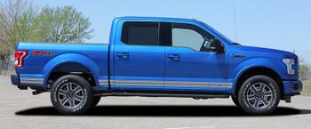 side of Ford F150 Rocker Side Stripes Decals 15 150 ROCKER 2 2015-2020