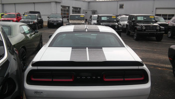 rear of Blacktop Graphics for Challenger PULSE RALLY 2008-2020